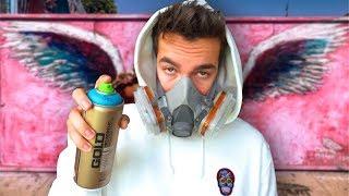 Making Street Art On Most Famous Wall In LA