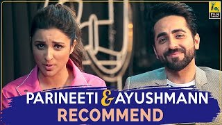 Parineeti Chopra & Ayushmann Khurrana On Their Favourite Films | FC Recommends