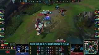 Koo (Kuro Kassadin) VS SKT (Faker Ryze) Game 4 Highlights {REKT} - S5 World Championship Final