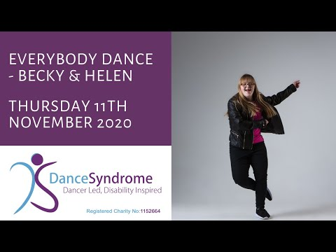 Watch video Everybody Dance Becky & Helen 12th November 2020