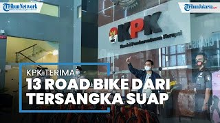 Penampakan 13 Sepeda Road Bike yang Dikembalikan ke KPK, terkait Kasus Suap Edhy Prabowo