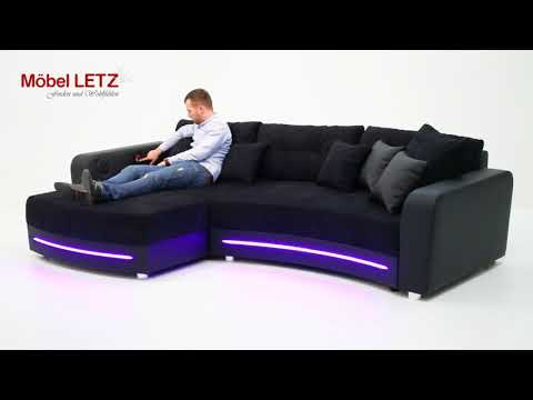 JOB Laredo Sofa mit LED-Beleuchtung und Soundsystem