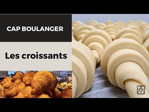 Boulangerie Pas à Pas N°4: comment détailler 12 croissants CAP boulanger
