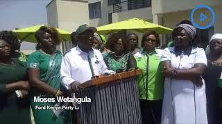Wetangula opposes Aukot's Punguza Mizigo Initiative