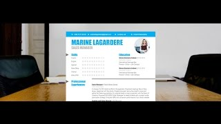 "Download resume ""Polished"" by Mycvfactory"