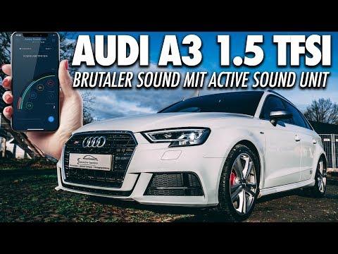 RS3 SOUND IM 150 PS Audi A3?! 1.5 TFSI Sportback mit Soundmodul | Sound Booster - Cete Automotive