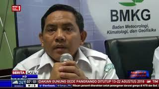 BMKG Prediksi Adanya Gempa Susulan di Lombok