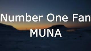 MUNA   Number One Fan [Lyrics]