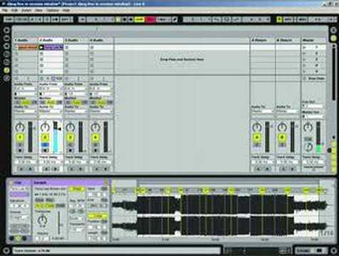 Ableton Tutorial – DJ'ing live part 1