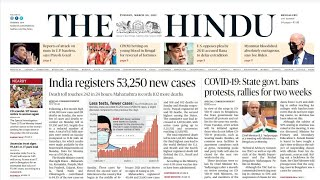 30 March 2021 | The Hindu Newspaper Analysis | Current affairs 2021 #UPSC #IAS #Todays The Hindu