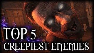 Witcher 3 - Top 5 Creepiest Enemies