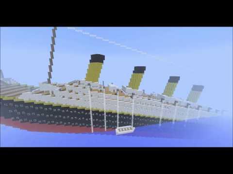 Titanic Adventure Map Minecraft Project