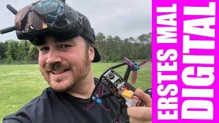 Digital Maiden | Erstes Mal digital HD FPV fliegen | Caddx Nebula Pro Vista Kit