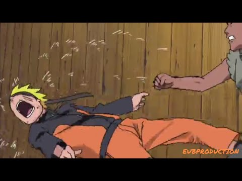 "Наруто избивают ""Я не предам Саске!"""