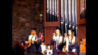 """Ashley and Michelle singing """"Me and God"""" by Josh Turner"""