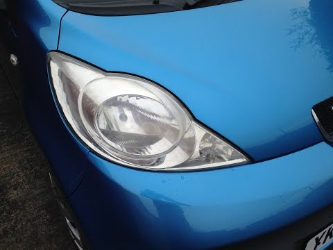 How to Replace Peugeot 107 Headlight Bulbs