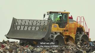 Volvo LC450H Landfill Compactor Walkaround