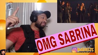 Sabrina Carpenter   Sue Me (A Cappella)  MUSIC VIDEO REACTION BY NJCHEESE