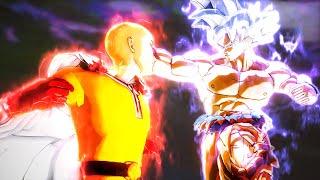 Saitama vs Ultra Instinct Goku In Dragon Ball Xenoverse 2 Mods