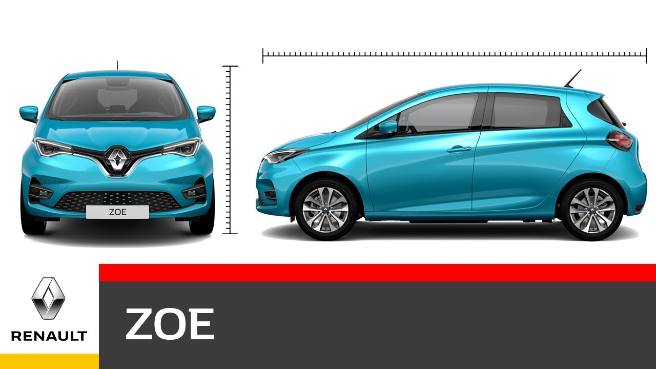 Renault ZOE Video Dimensioni