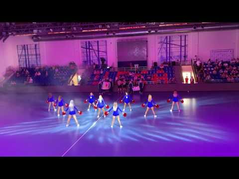 Группа поддержки ПГК ЦСКА Lucky Demons Cheerleaders Черлидеры