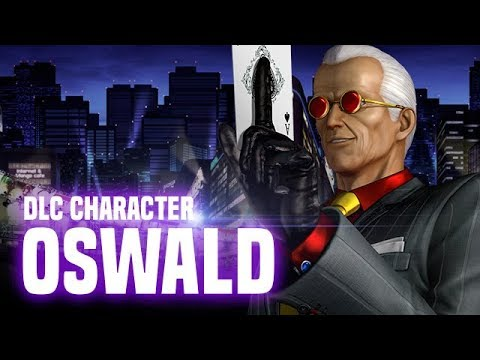 KOF XIV: Oswald DLC Character