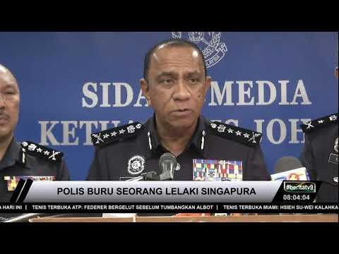PENCEMARAN KIMIA  Polis Buru Lelaki Singapura