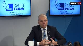 "Айгар Ростовскис в программе ""Утро на Балткоме"" #MIXTV"