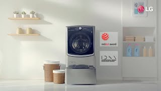 YouTube Video hI88eD1l7bE for Product LG TWINWash Washer-Dryer Bundle with LG SideKick by Company LG Electronics in Industry Laundry