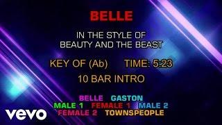 Ensemble - Beauty and the Beast - Belle (Karaoke)