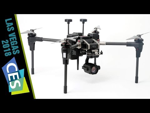 THIS is a WALKERA!? 30x Zoom Voyager 5 Drone at CES 2018