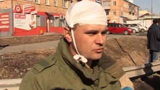 Два человека пострадали в аварии на въезде в Артем