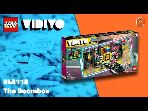 Vidéo LEGO VIDIYO 43115 : The Boombox