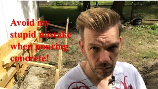 Renovating An Abandoned Tiny House #12: Avoid My Stupid Concrete Mistake!