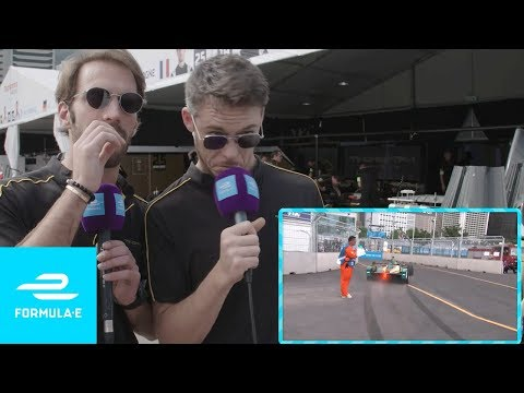 Techeetah Commentate Classic Formula E Moments! | Taking The Mic Ep 1