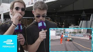 Techeetah Commentate Classic Formula E Moments! | Taking The Mic Ep 1