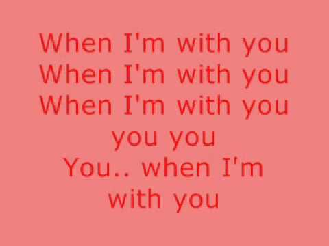 Westlife-When I'm With You With Lyrics