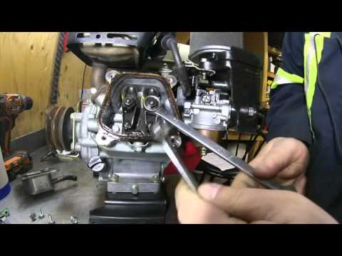 Honda GX120 Valve Lash Adjustment DIY