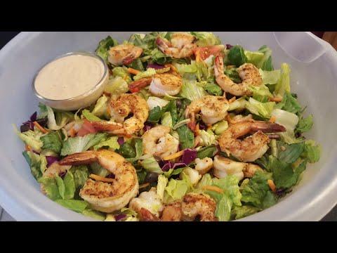 How to make Shrimp Salad with homemade salad dressing