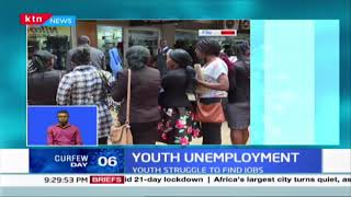 According to KNBS Q4 labour report unemployment has hit 4.9% as close to 2.3M youth unemployed