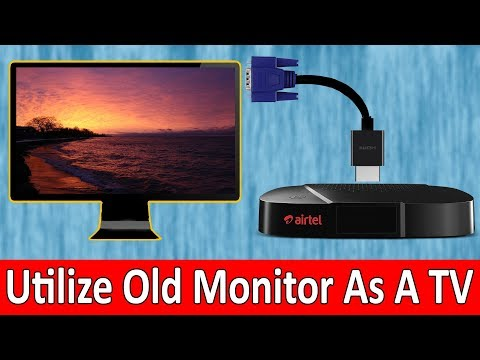 Use Your Old Monitor as a TV