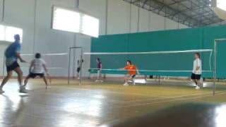 preview picture of video '2009-07-01: Mazda 3 Thailand - Lat Phrao Badminton Match!'