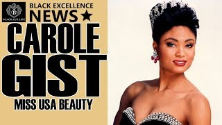 Black Excellist News: Carole Gist - 1st African American Miss USA