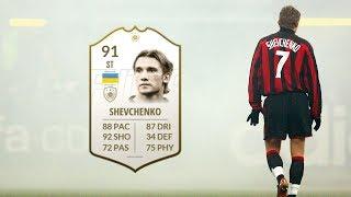 FIFA 19 - PRIME ICON SHEVCHENKO (91) PLAYER REVIEW