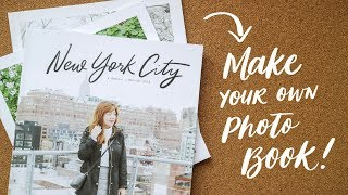 Creating A Photo Book 📷| Abbey Sy