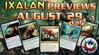 Ixalan Spoilers: Gishath, Sun's Avatar, Tishana, Voice of Thunder, Carnage Tyrant, and more – MTG!