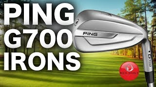The Most FORGIVING PING Irons I've Hit   G700 Review