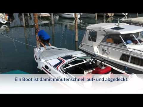 So leicht ist eine Bootspersenning aus Planofil