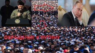 Чечня обратилась к Путину!Самый крупный митинг в Чечне!