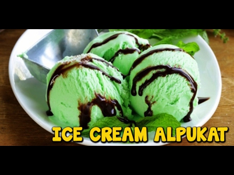 Video Cara Membuat Es Krim Alpukat | Avocado Ice Cream